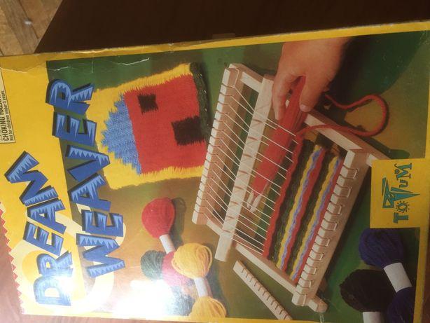 Станок для плетения детский деревянный