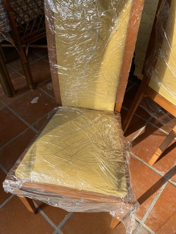 6 cadeiras de jantar cerejeira