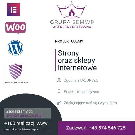 Indywidualna strona internetowa | CMS Wordpress | RWD | od 800 pln