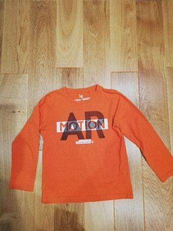 Bluzki + t-shirt 134 chłopiec zestaw 9szt.