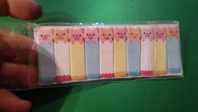 кантовары стикеры цветные свинки липучки