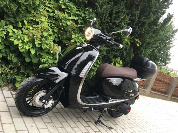 Junak Vintage 125/50 retro skuter 2019, motorower IMF line, RATY