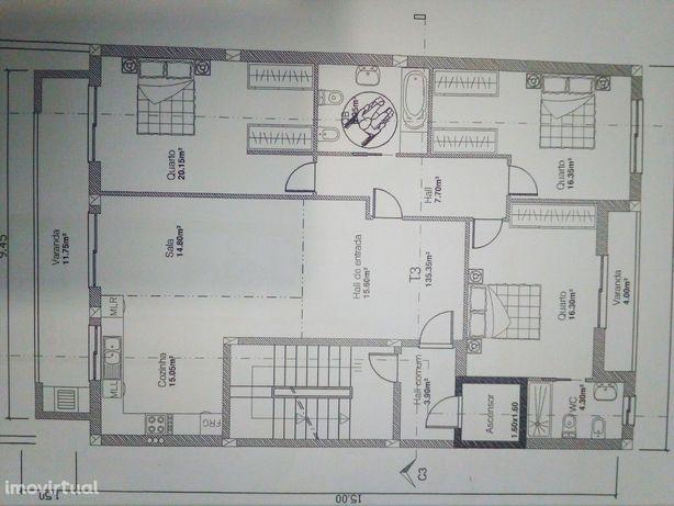 Apartamento T3 Venda em Oliveira de Azeméis, Santiago de Riba-Ul, Ul,