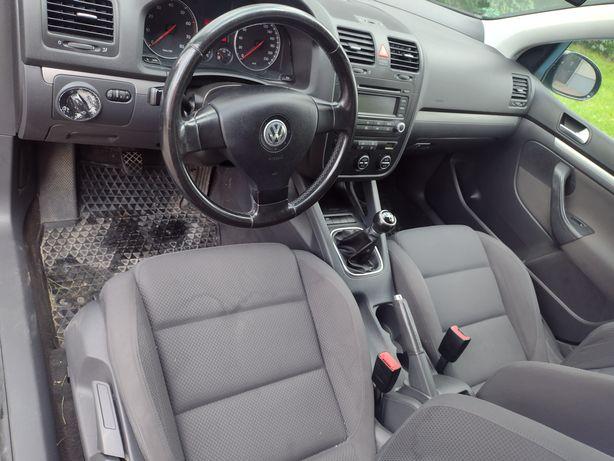 VW Golf 5 // konsola airbag pasy