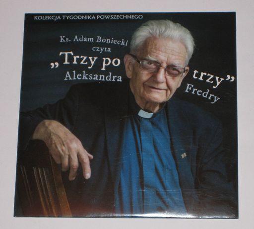 """ks. Adam Boniecki czyta """"Trzy po trzy"""" Aleksandra Fredry - audiobook"""