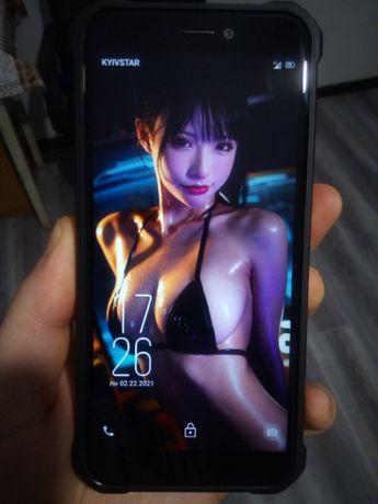 Новый противоударный смартфон oukitel wp5 4/32 батарея 8000мАч