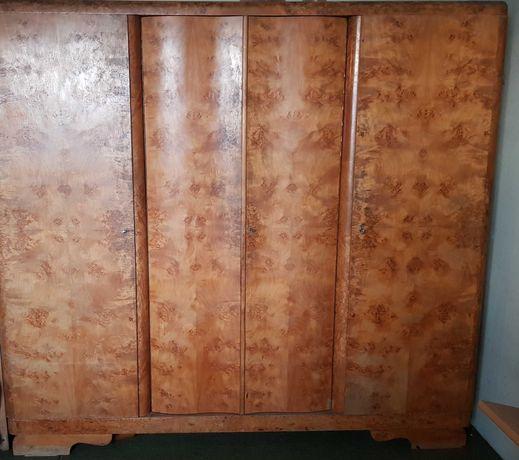 Szafa zabytek antyk prl 3 drzwiowa duża pojemna