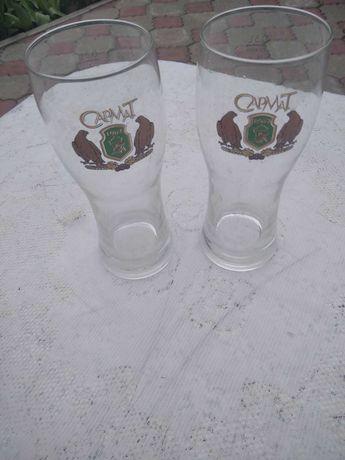 Пивные бокалы с логотипом пивных брендов