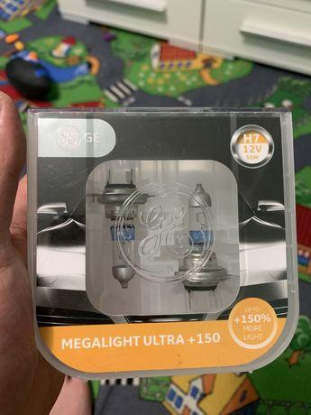 Лампа галогенная GENERAL ELECTRIC Megalight Ultra +150 H7