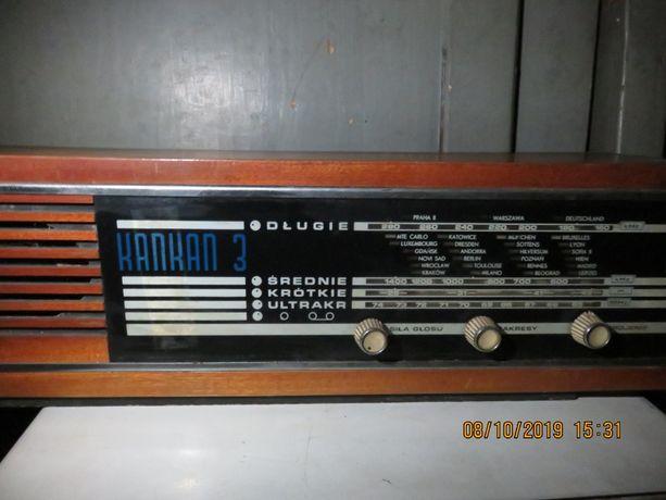 Radio Kankan 3 - lampowe z PRL - lata 70
