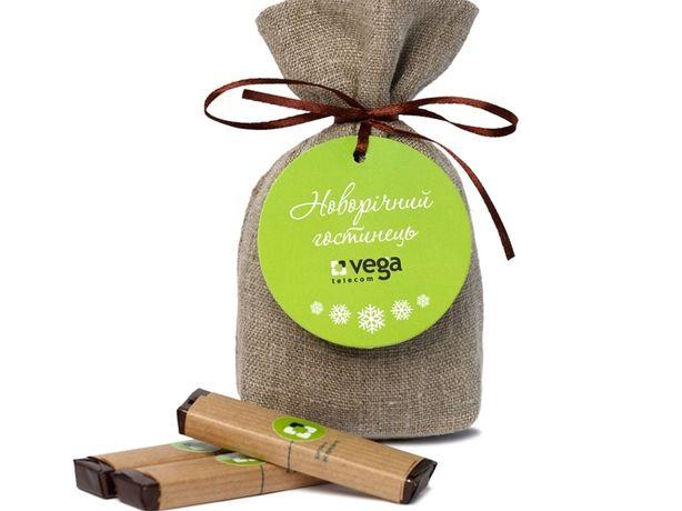 Корпоративні подарунки з Вашим логотипом - шоколад з передбаченнями
