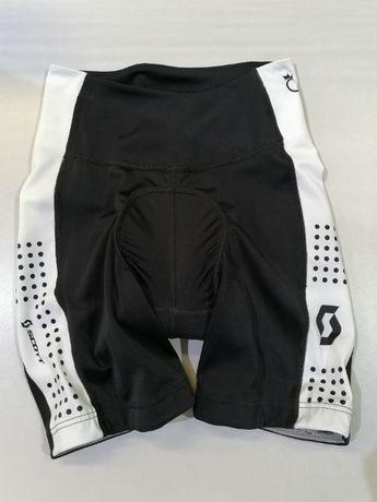 Wyprzedaż spodenek rowerowych !!! Damskie Scott Endurance 30+ XS