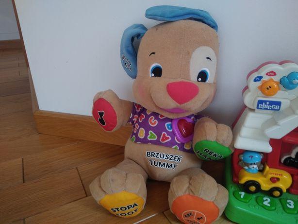 interaktywne Zabawki szczeniaczek uczniaczek interaktywna farma Chicco
