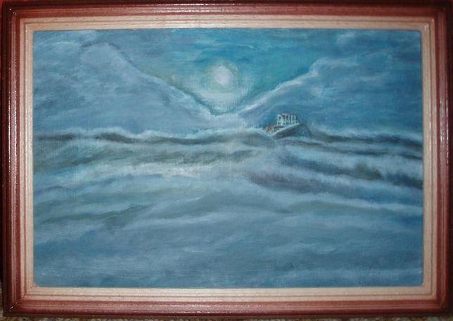 """Картина """"Море"""". Подарок для ценителей искусства."""