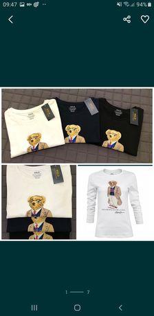 Bluzeczka damska Ralph Lauren Bear  ostatnie szt. XS,S