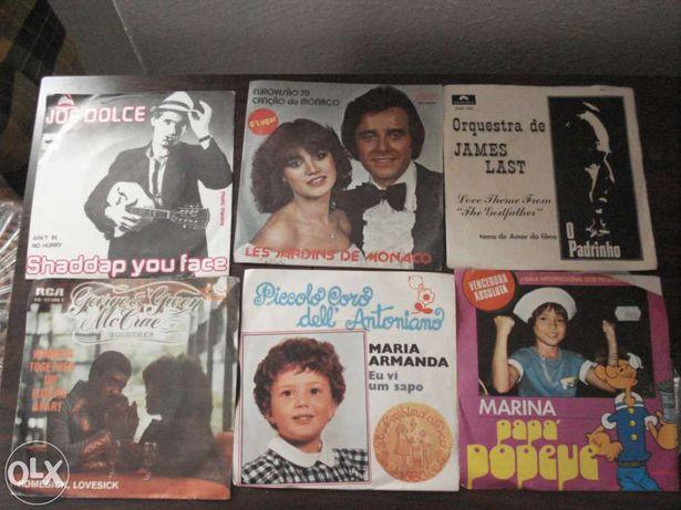 19 Discos em vinil antigos