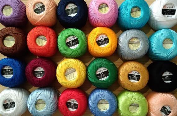 Пряжа для вязания Yarnart Lily
