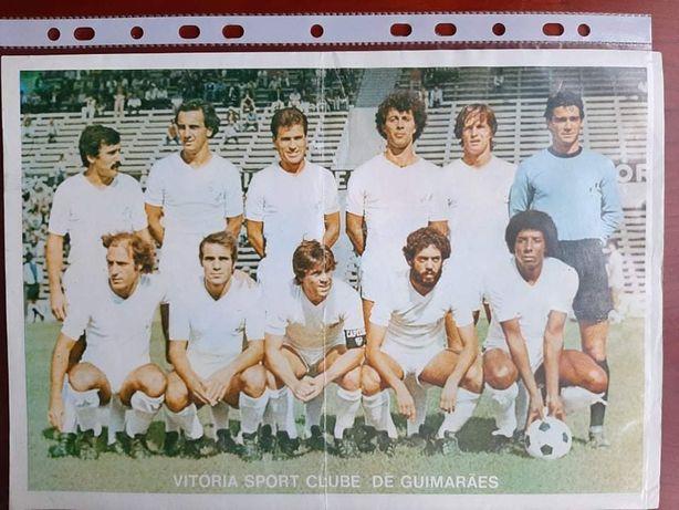 Poster/separata Vitória de Guimarães anos 70