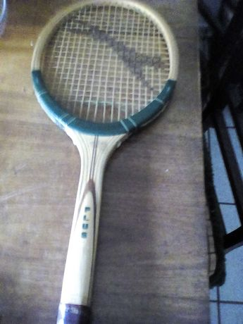 Raquete tenis de colecao