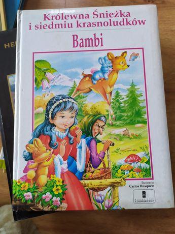Królewna Śnieżka i siedmiu krasnoludków oraz Bambi