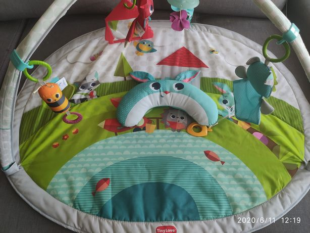 Детский коврик Tiny Love Веселая поляна с дугами