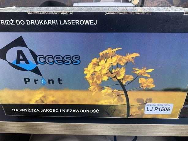 Kartridż Laserowy do HP nowy AC436A Wydajność: 2000 str. LJ P1505