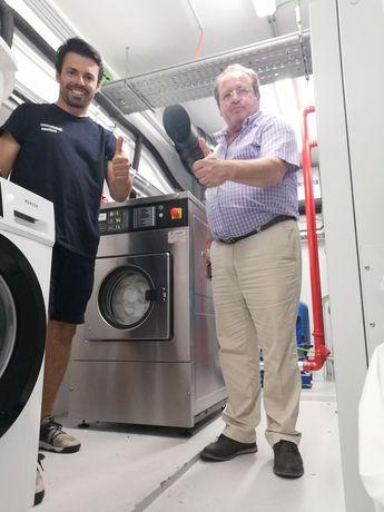 Aluguer de equipamentos Self-service ou para lavandaria industriais