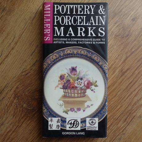 Książka znaki na porcelanie ceramice, Pottery & Porcelain Marks, Lang