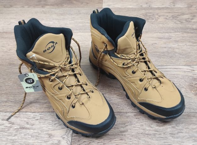 Ботинки Bona сапоги мужские из кожи размер 46