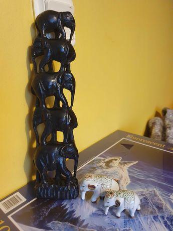 Figurki slonie zestaw