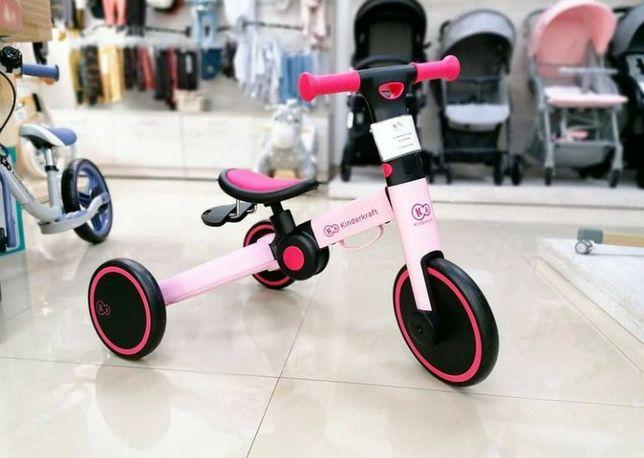 В наличии. Трехколесный велосипед 3 в 1 Kinderkraft 4TRIKE