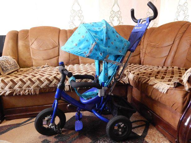 """Трёхколёсный велосипед с родительской ручкой """"Azimut Trike"""""""