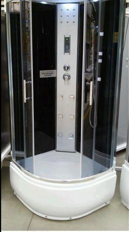 Prysznic z hydromasażem i radiem