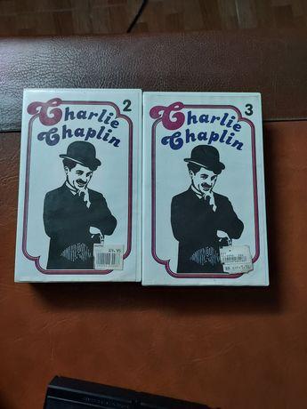 2 VHS Charlie Chaplin originais