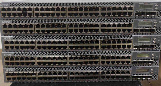 Коммутатори Juniper Juniper Switch EX3300 48x 1Gbit PoE+ 4x SFP+