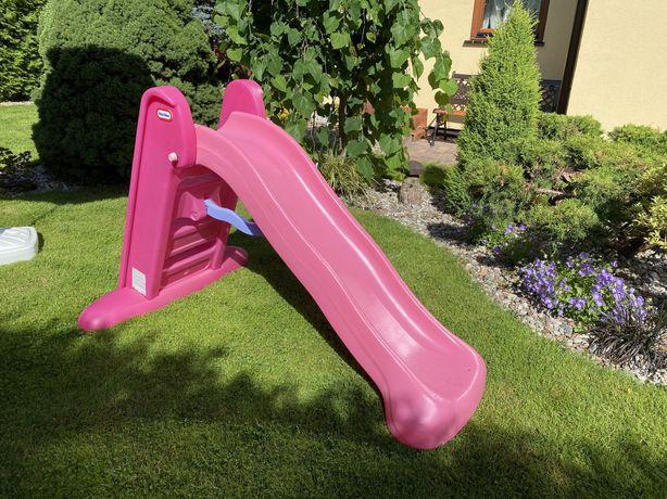 Little Tikes zjezdzalnia ogrodowa 150cm różowa