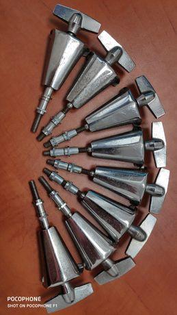 Perkusja śruby centrala 8 szt 103 mm claw hook gwint bsw 1/4 sonor