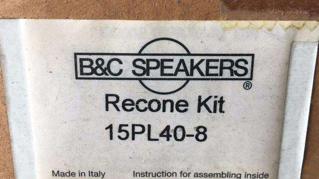 B&C recone 15PL40-8