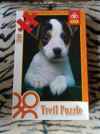 Puzzle 30 sztuk piesek