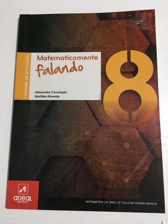 Caderno matematicamente falando 8