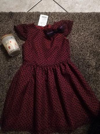 Nowa śliczna sukienka dziewczęca rozm 116