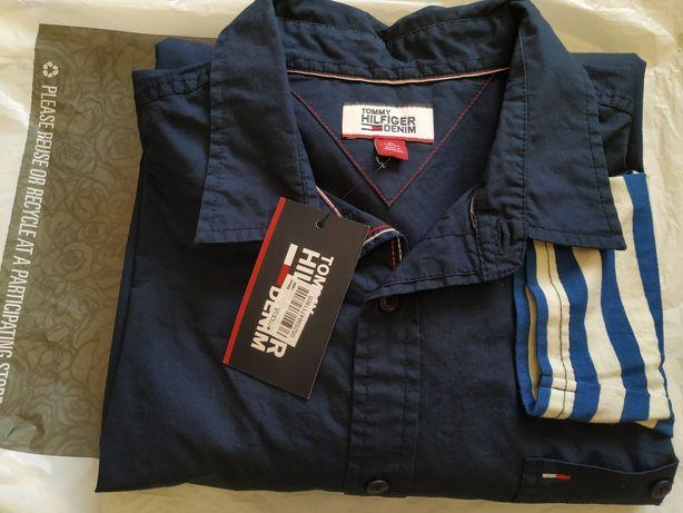 Tommy Hilfiger denim Сорочка рубашка чоловіча мужская
