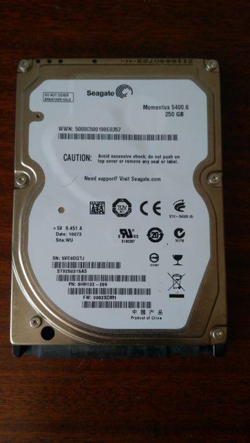 Жорсткий диск Seagate Momentus 5400.6 250GB 5400rpm 8MB ST9250315AS 2.