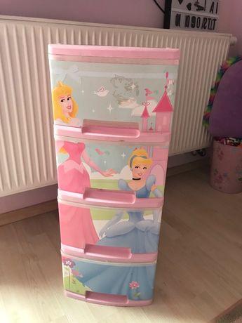Komódka Disney Princess dla dziewczynki