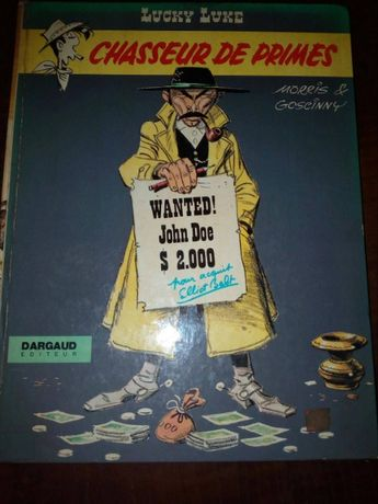 Lucky Luke - Chasseur de Primes - Dargaud - 1972- em Francês