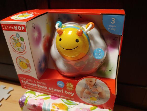 Zabawka Pszczoła skip hop