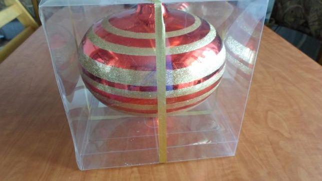 Ёлочная игрушка большой шар