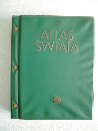 Atlas Świata - 1962. Stan Doskonały!