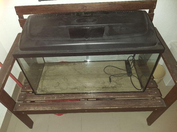 Akwarium Aquael 120l + pełny zestaw akcesoriów + gratisy