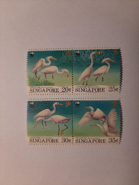 Znaczki pocztowe - zestaw 8